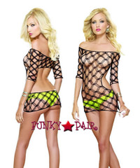 DG-9287 * Fast Lane Dress