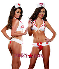 role play lingerie sexy costumes,DG-7985, Nurse Ivanna Lube