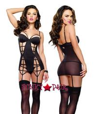 DG-9331 * Sexy seductress Garter Dress