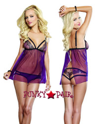 DG-9348 * Object of Desire Babydoll Set
