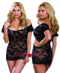 DG-6286X, Sweet Sensation Plus Size Babydoll