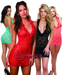 DG-6291 * Midnight Lace Baby doll