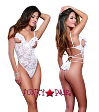 DG-9168, Ruffle Surprise Teddy