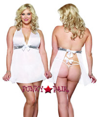 DG-9169X, Cherished Night Plus Size Babydoll