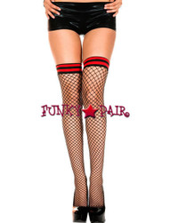 ML-4934, Striped band Stocking