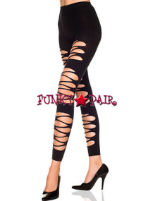 ML-35240, Cut Out Opaque Leggings