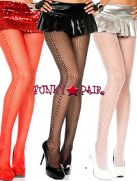 ML-5505, Crochet Side Pantyhose