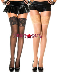 ML-4120, Wide Lace Stocking