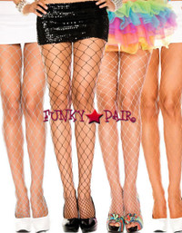 ML-9024, Diamond Net Pantyhose
