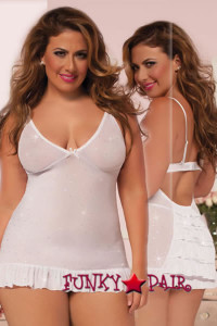 STM-9878X, Bedazzled Bride Chemise