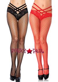 LA-9971, Cage Lace Panty Pantyhose