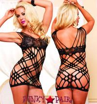 LA86568, Seamless Strappy Dress