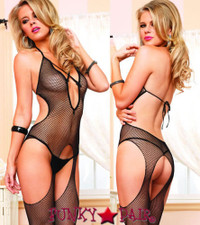 LA89110, Fishnet Suspender Bodystocking