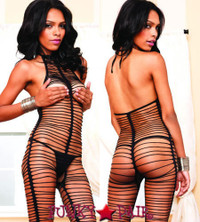 LA89115, Shredded Bodystocking
