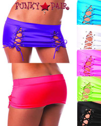 1736SL, Lace Up Skirt