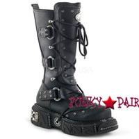 DMA-3000, Unisex Veggie Boot,Demonia Punk  Boot