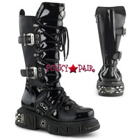 ,Demonia Punk DMA-3006, Lace Up Gothic Boots