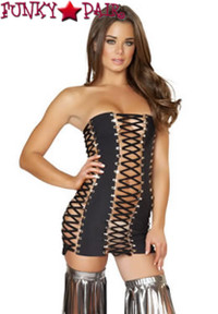 SF132, Lace up Dress