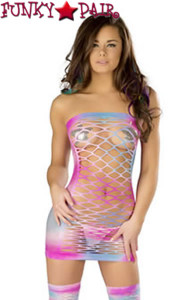 KD501, Net Tube Dress