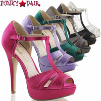 Lolita-20, 5 Inch T-strap Platform Sandal **COMING SOON IN DEC**