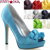 Lumina-42, 4.75 Inch Peep Toe Pump **COMING SOON IN SEPT**