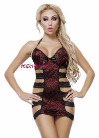 J1057, Strappy Lace Chemise