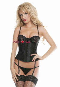 RL4704, Chiffon and Satin Bustier