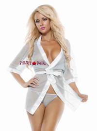 SL4719, Sheer Seduction Robe *COMING SOON SEPT*