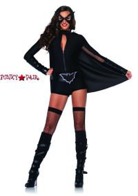 5Superhero Accessories, includes bat belt, foam arm cuffs, cape, and bat eye piece.5