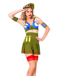LA-85184, Bomber Girl Costume