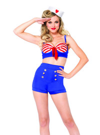 LA-85189, On Deck Darling Sailor Costume (LA-85189)