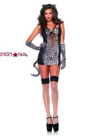 LA-85233, Pin Up Kitty Costume