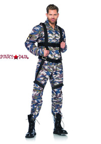 LA-85279, Paratrooper Men Costume