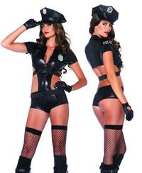 LA-85302, Officer Booty On Duty Cop Costume