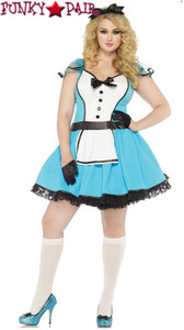 Plus size, Storybook Alice Front view