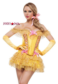 S4184, Enchanted Castle Beauty Belle Costume front view