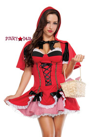 S3078, Little Red Costume front view