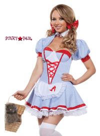 S4296, Delightful Dorothy Costume front view