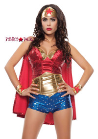 S4560, Wonder Women Costume front view