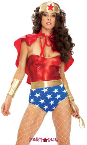 FP-551307, Super Seductress - Adult Superhero Costume