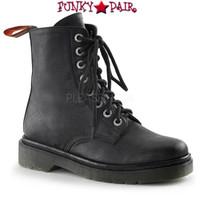 RAGE-100, Women Combat Women Punk boots Mady By Demonia