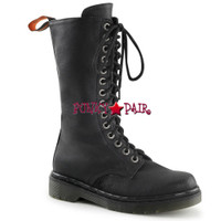 RAGE-300, Woman Combat Women Punk boots Mady By Demonia