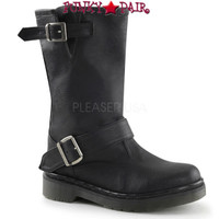 RAGE-302, Woman Motorcycle Women Punk boots Mady By Demonia