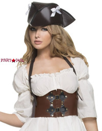 C1389, Steampunk Waist Cincher Made by Mysery House