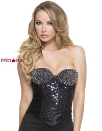 C1393, Rock Star Corset Made by Mysery House