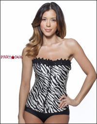 C1207, Zebra Corset Made by Mysery House