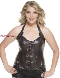 C1232W, Steampunk Corset  Made by Mysery House