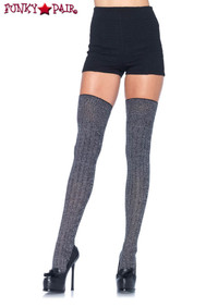 Heather Acrylic Thigh Highs, LA6907