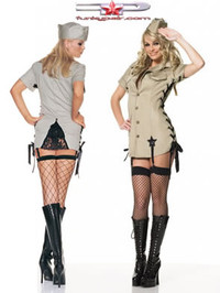 Pin up army girl costume