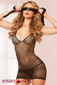 Fishnet Rope Chemise Set (STM-9999)